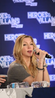 Katie Cassidy - Heroes and Villains Fan Fest San Jose 2015