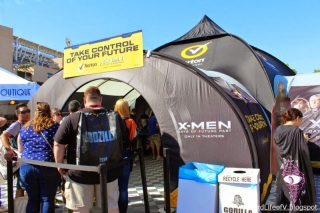 The X-Men Experience inside the Petco Park Interactive Zone - Outside San Diego Comic Con 2014