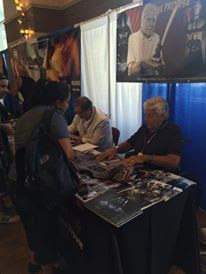 Me getting my Darkside Star Wars jersey signed by David Prowse at SuperToyCon 2016