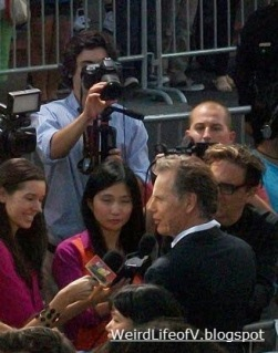 Bruce Greenwood doing interviews