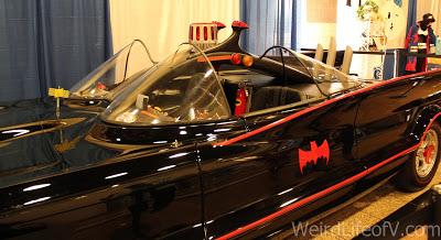 Batmobile replica at SuperToyCon 2016