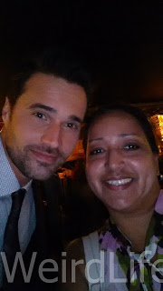 Selfie with Brett Dalton at the American Ultra Red Carpet Premiere