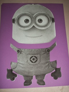 cut minion template into various pieces