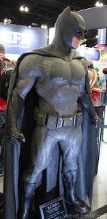 Batman Costume on display
