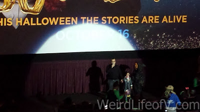 Jack Black introduces the film with his sons