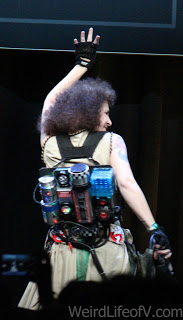 Belly Dancing Ghostbuster cosplay