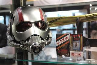 Ant Man helmet with matchbox Ant Man figure