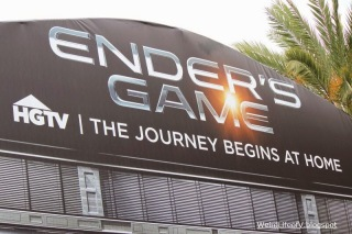 Ender\'s Game installation outside San Diego Comic Con 2013