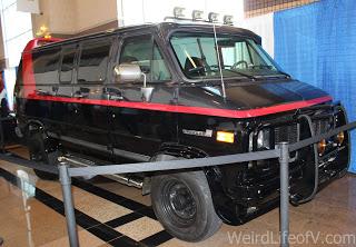 A-Team replica van at SuperToyCon 2016