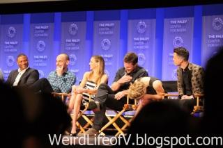 Arrow Cast: David Ramsey, Paul Blackthorne, Katie Cassidy, Stephen Amell, Emily Bett Rickards, and Colton Haynes