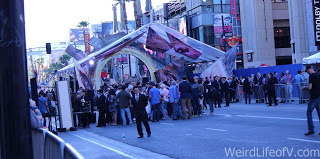 Press entering the red carpet for the Doctor Strange Premiere in Hollywood.
