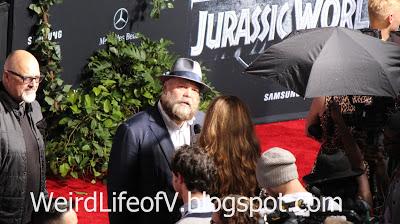Vincent D\'Onofrio being interviewed - Jurassic World Premiere