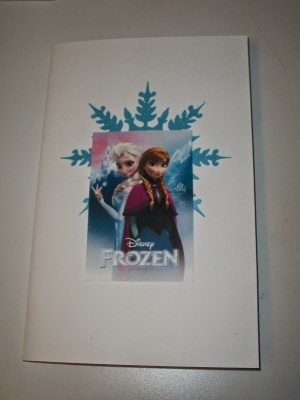 DIY Elsa and Anna Frozen themed coloring book