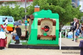 Bilbo\'s house made of Legos