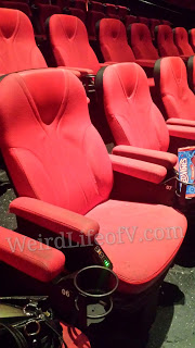 D-Box seats at the TCL Chinese 6 Theatres in Hollywood