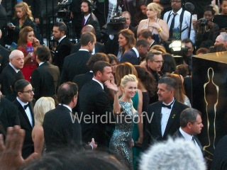 Naomi Watts waves to the fans