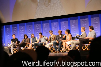 Cast and producers of The Flash