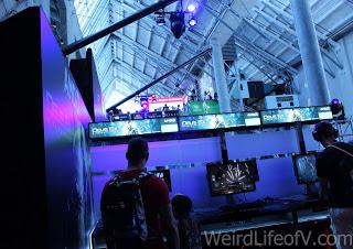 Video gaming at Nerd HQ 2016