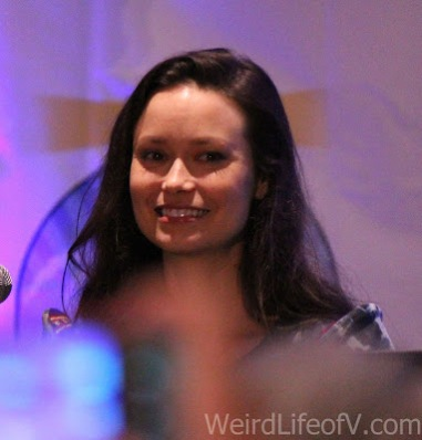 Summer Glau at the Firefly reunion panel at LBCC 2016