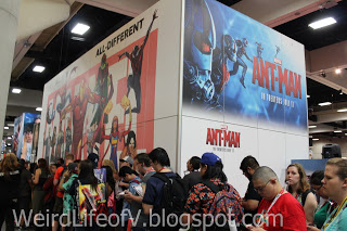 Marvel Booth