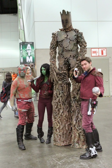 Cosplay: Guardians of the Galaxy group
