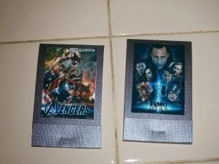 DIY Marvel Avengers Matchbook notepad favors