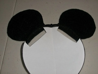 Ears attached to headband