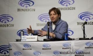 Director Gareth Edwards at the Godzilla panel
