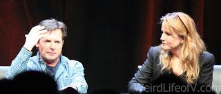 Michael J. Fox and Lea Thompson