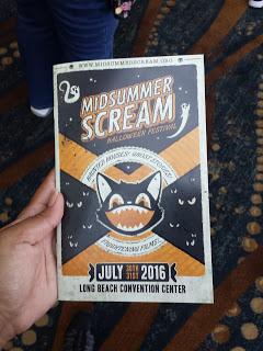 Midsummer Scream program book