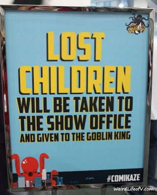 I love the Lost Children sign