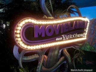 Yahoo! Movieland pop-up outside San Diego Comic Con 2012