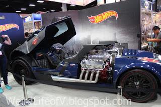 Hot Wheels Superman car