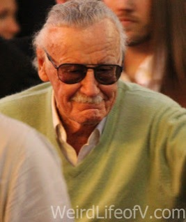 Stan Lee arrives at the Doctor Strange premiere in Hollywood