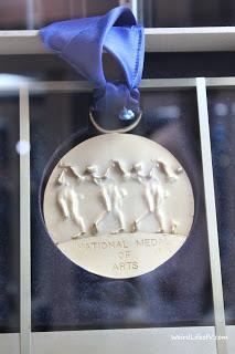 National Medal of Arts medal