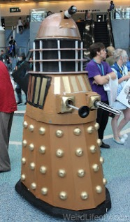 Dalek cosplay from Doctor Who