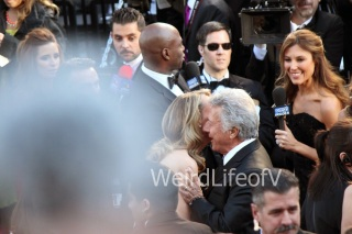 Helen Hunt and Dustin Hoffman