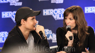 Robbie Amell and Danielle Panabaker - Heroes and Villains Fan Fest San Jose 2015