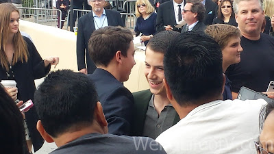 Ryan Lee and Dylan Minnette