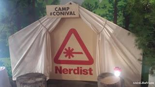 The Nerdist\'s tent