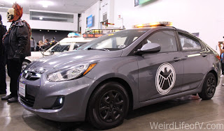 S.H.I.E.L.D. car on display