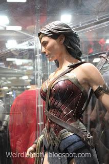 Wonder Woman (2015/17 version) costume display