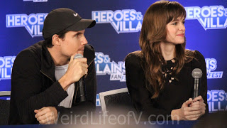 Robbie Amell and Danielle Panabaker panel - Heroes and Villains Fan Fest San Jose 2015
