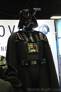 Darth Vader statue on the exhibition floor at SDCC 2016