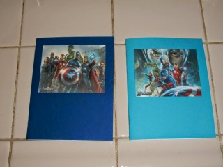 DIY: Marvel Avengers Coloring book favors