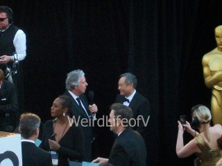 Ang Lee being interviewed by Chris Connelly