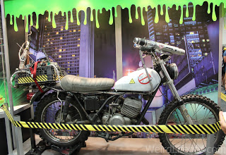 Ghostbusters motorcycle