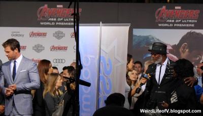 Chris Hemsworth and Samuel L. Jackson