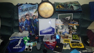 All of the free swag obtained outside of the convention center without a SDCC badge