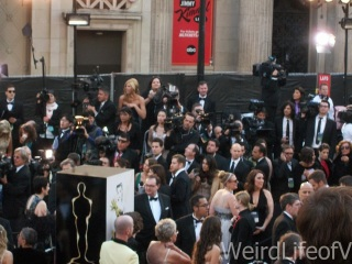 So many people on the red carpet for the 2013 Academy Awards